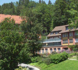 Aussenansicht Hotel Zentrum Ländli
