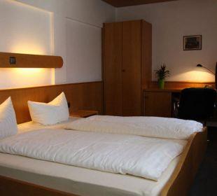 Doppelzimmer Kategorie B Hotel Waldhorn Stuttgart