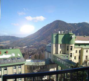 Ausblick auf Semmering Hotel Panhans