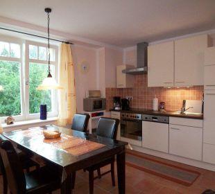 Rügen Ferienwohnung - Küchenbereich Ferienwohnungen Alte Tischlerei Putbus