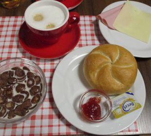 Frühstück Tag 3 ENZIANA Hotel Vienna