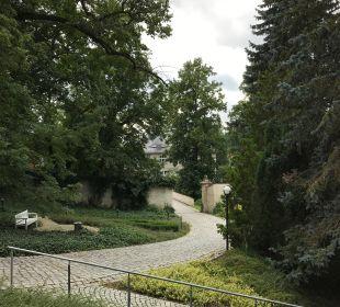 Gartenanlage Hotel Schloss Schweinsburg