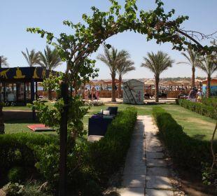 Weg zum Strand SUNRISE Select Royal Makadi Resort