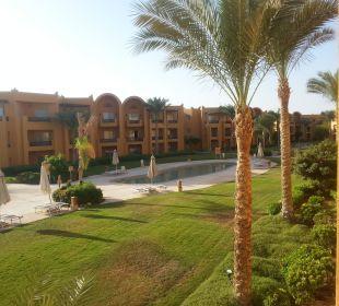 Blick vom Zimmer Stella Di Mare Beach Resort & Spa Makadi Bay