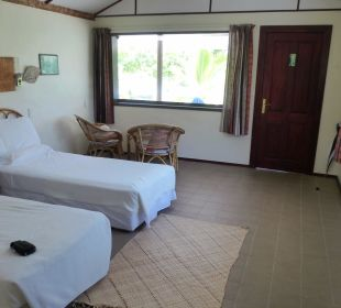 Innenansicht Wohnraum Sandy Beach Resort Tonga
