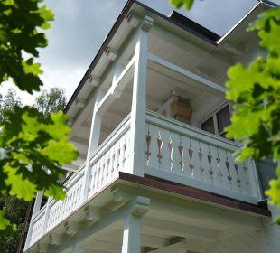 Villa Granitz Balkon Doppelzimmer  Hotel Villa Granitz
