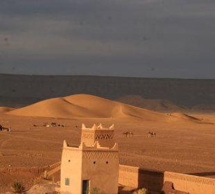 Blick auf die Sahara Stargazing Hotel SaharaSky