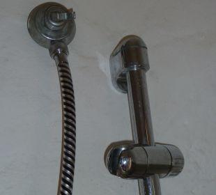 Duschhalterung defekt Sardafit Ferienhaus Budoni