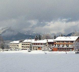 Blick auf das Hotel Alm- & Wellnesshotel Alpenhof