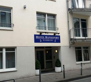 Hier ist es noch ruhig ....  Hotel Hanseport Hamburg