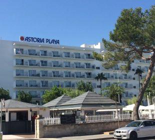 Astoria von der Straße Hotel Astoria Playa Adults Only
