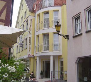 Das Hotel von außen Hotel Central Vital