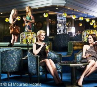 Blue Bar (Piano Bar) Hotel El Mouradi Palm Marina