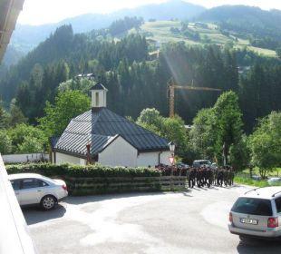 Blick vom Balkon Schatzberg-Haus