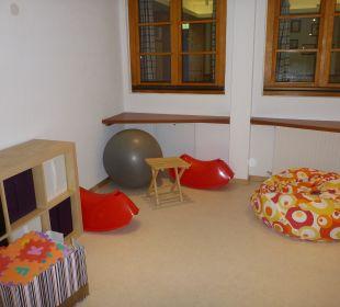 Winter 2012: Spielzimmer Hotel Lukas