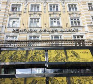 Außenansicht Pension Neuer Markt