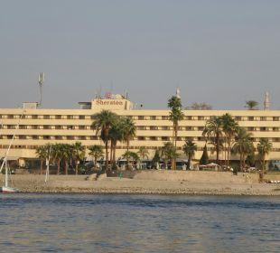 Vom Nil aus... Achti Resort Luxor