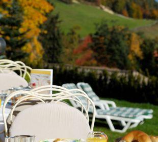 Gemütliches Vital Frühstück im freien Hotel Dolomitenblick