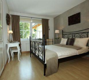 Schlafzimmer Country-Suites Landhaus Dobrick Am Schultalbach