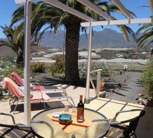 Ausblick von der Terrasse von Bungalow 8 Bungalows El Paradiso