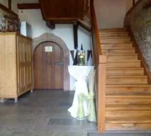 Eingang Hotel Meisnerhof