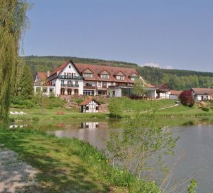 Hotelansicht Südost Seehotel Gut Dürnhof