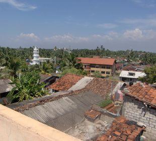 Ausblick hinten raus Bochum Lanka Resort