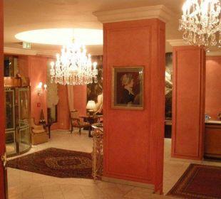 Hotellobby Hotel Bristol Salzburg