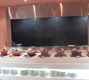 Frühstücksangebot Clarks Shiraz Hotel