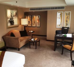 "Jr. Suite mit ""partial harbour view"" Hotel InterContinental Hong Kong"