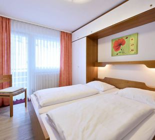 Schlafzimmer Komfortappartement Die Gams Hotel - Resort
