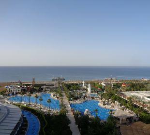 Ausblick vom 9ten stock Hotel Delphin Imperial