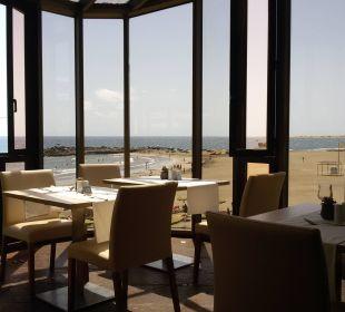 Schöner Ausblick beim Essen Hotel Dunas Don Gregory