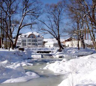 Domicil am Stadtpark im Winter Ferienwohnungen & Pension Domicil am Stadtpark