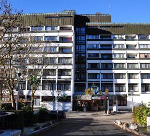 Hotelgebäude Mercure Hotel Garmisch Partenkirchen