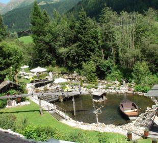 Relaxzone Aussenbereich nur ein Teil davon Hotel Quelle Nature Spa Resort