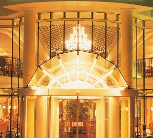 Hoteleingang Hotel Travel Charme Kurhaus Sellin
