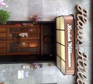 Eingangsbereich Hotel Haus Hillesheim