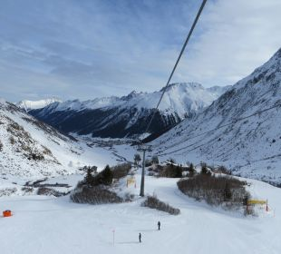 Galtürer Gondelbahn Alpinhotel Monte