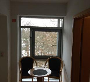 Eingangsbereich Zimmer 201 Familotel Family Club Harz