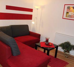 Wohnecke Appartement Dobratsch Gästehaus Seewinkel