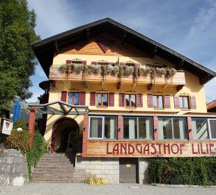 Außenansicht Hotel Landgasthof Lilie