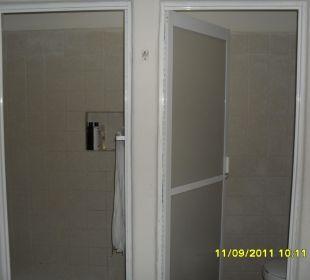 Dusche und WC getrennt Hotel Posada Riviera del Sol