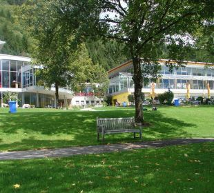 Garten- und Poolanlage des Val Blu Val Blu Resort Spa & Sports