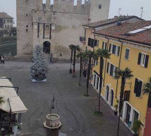 Blick vom Zimmer Hotel Sirmione e Promessi Sposi