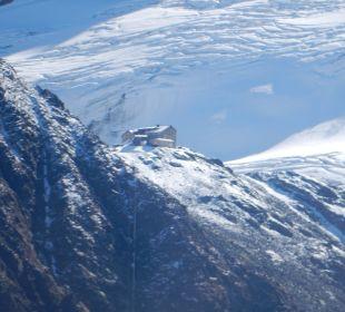 Blick auf die Braunschweiger Hütte  Hotel Alpen Royal
