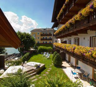 Gartenanlage Seeböckenhotel Zum weissen Hirschen