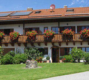 Nebenhaus mit Ferienwohnungen Biohof Rechenmacher