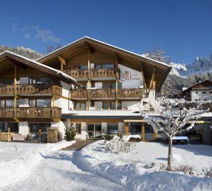 Hotel Stefaner im Winter Naturpark Hotel Stefaner