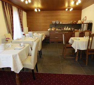 Frühstücksraum Haus Tirol Garni